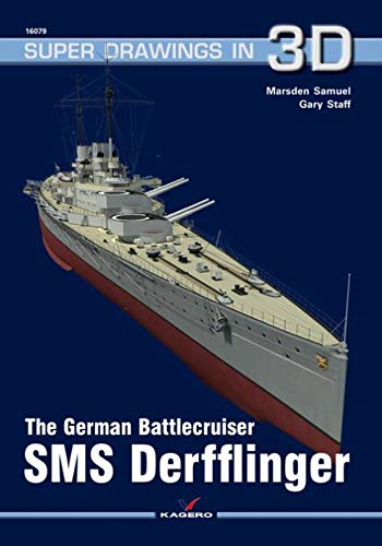 The German Battlecruiser Sms Derfflinger (Super Drawings in 3d)