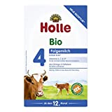 Holle - Bio-Folgemilch 4 - 0,6 kg - 3er Pack