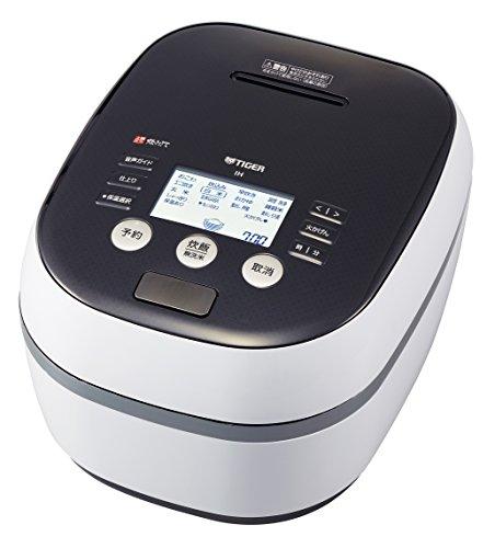 タイガー 炊飯器 5.5合 土鍋圧力IH ホワイト 炊きたて 炊飯 ジャー JPH-A100-WH