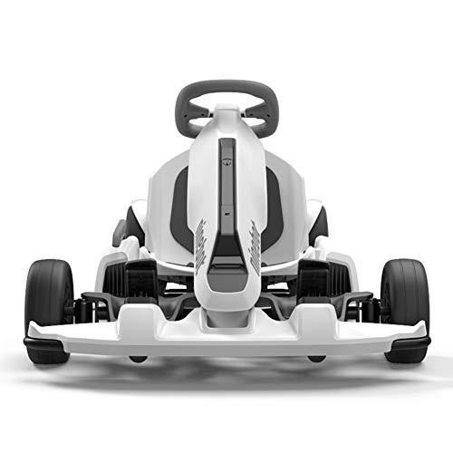 TOOSD 10 Pulgadas de Pedales Go-Kart, Ginebot Gokart Kit apropiado para Segway Minipro Transporter (Scooter de Equilibrio automático), Big Racing Ride en el Juguete para Autos para niños y Adultos,
