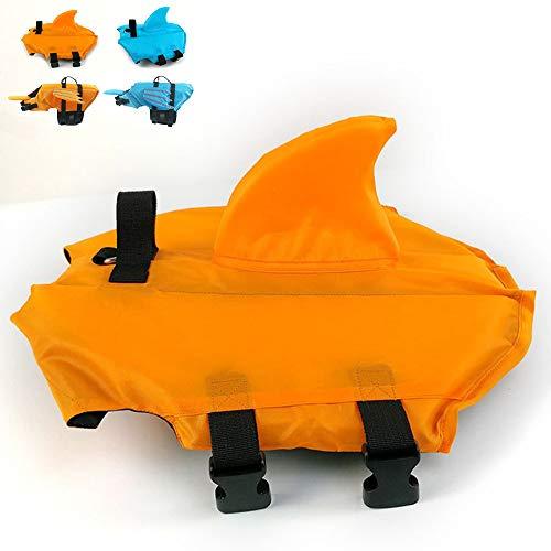 Snik-S - Chaqueta para la Vida del Perro, con cinturón Ajustable, Chaqueta de tiburón para Nariz Corta, Perro (Taza, Bulldog, caniche y Bull Terrier)