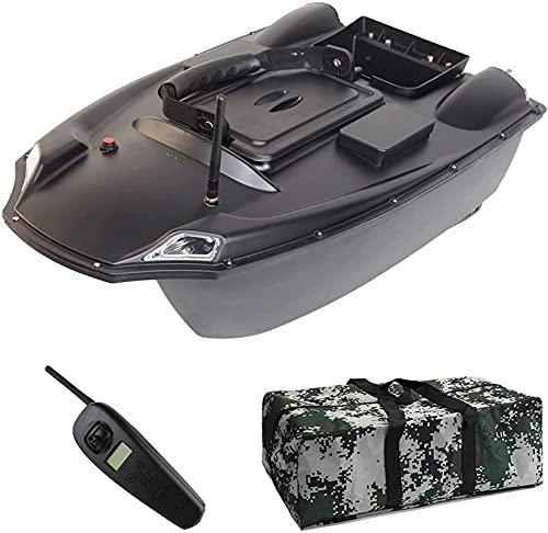 Barca RC, GPS Smart Fishing Boat - Fish Finder 3kg Loading 500m Telecomando per il telecomando Bait Bait Boat RC Boat, Bait Bait Boat Double Motor Night Light