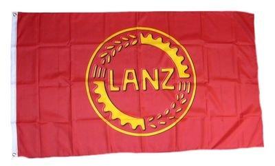 Fahne / Flagge Lanz Bulldog Logo NEU 90 x 150 cm