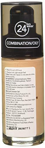 REVLON Colorstay Make Up Combination Oily Spf 15 -Fresh Beige, Beige, 30 ml