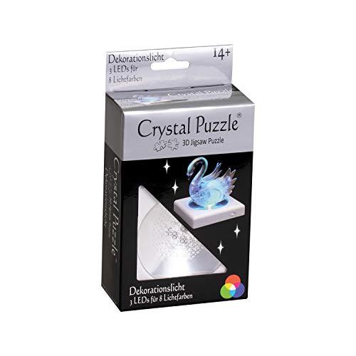 HCM Kinzel 59138 Licht LED Dekorationslicht für 3D Crystal Puzzle, Mehrfarbig