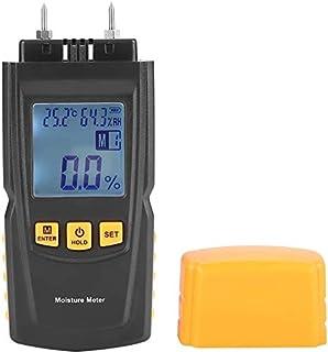 Tester Humidimètre d'humidité Humidité 2 Broches Digital LCD Humier Detector Detector pour Le Papier de Chauffage Humidité...