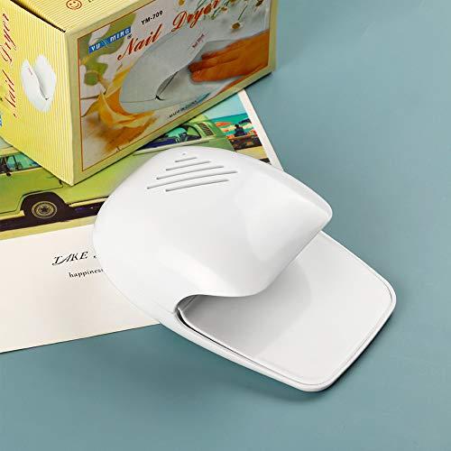 風で優しくネイルを乾かすネイル乾燥機イルドライヤーマニキュアを乾かす電池タイプ持ち運びやすい