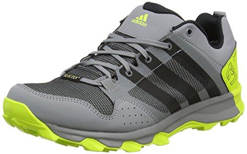 adidas Kanadia 7 TR GTX, Zapatillas de Running para Asfalto Hombre, Multicolor (Grey Three/Core Black/Semi Solar Yellow), 47 1/3 EU