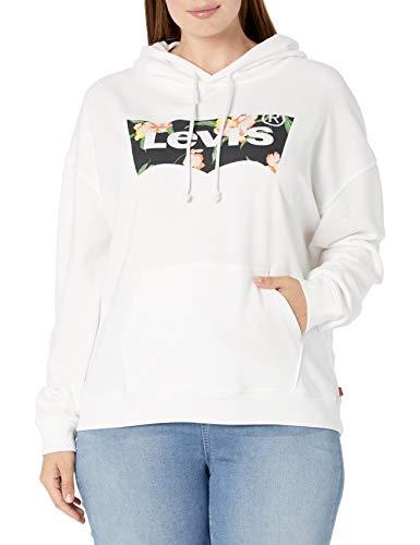 Levi's Damen Plus-Size Graphic Sweatshirt Hoodie Hemd, Fledermausflügel mit Blumenmuster, 2X
