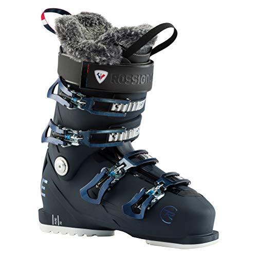 Rossignol Damen Pure 70 Skischuhe, Blauschwarz, 24.5 Mondopoint