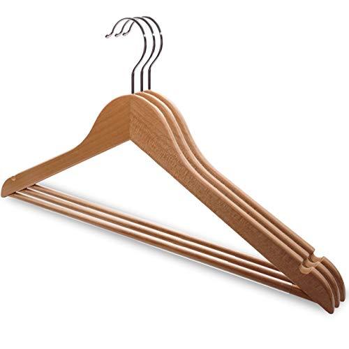 f/ür Hemden//T-Shirts//Blusen famy.Shop 20 St/ück Kleiderb/ügel wei/ß Kunststoff NA 43 platzsparend drehbare Haken