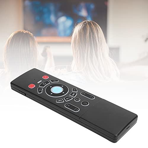 Jopwkuin Suministros de computadora, Teclado de Mouse Remoto de Aire 7 Tipos de retroiluminación LED para Cajas de TV para proyectores(Standard Edition)