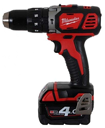 Milwaukee 4933443520 – M 18 bpd-402c Trapano a percussione, 18 V, 4,0 Ah, al litio, 2 Vel, 60 nm