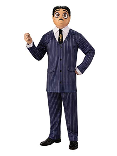 Rubie's Addams Family Animated Movie Gomez Adult Costume, As Shown, Standard