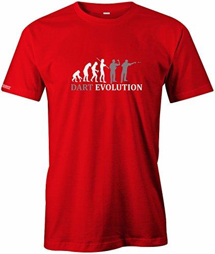 Jayess Dart Evolution - Sport Hobby - Herren T-Shirt in Rot by Gr. XXL