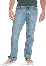 Wrangler Authentics Men's Big and Tall Big & Tall Regular Fit Comfort Flex Waist Jean, Chalk Blue, 44W x 30L