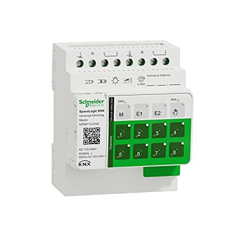 Schneider Electric MTN6710-0102 SpaceLogic KNX - Variazione - 2 uscite universali - master