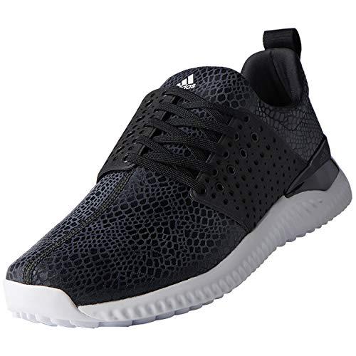 adidas Men's Adicross Bounce Golf Shoe, Black/White, 10.5 M US