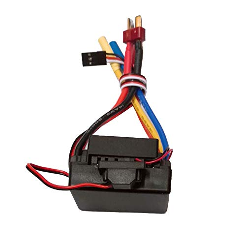 Shaluoman Waterproof 60A Sensorless Brushless Car Electronic Speed Control ESC (Black)