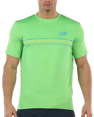 Bullpadel Camiseta Caicedo, Hombre, Limon Fluor Vigore, 2XL
