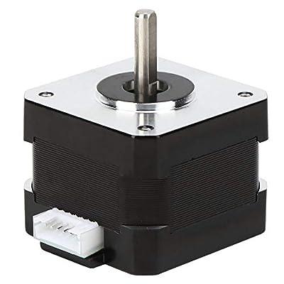 Stepper Motor, 42?40 3D Printer Motor, 0.05KW Sturdy Ender?3 XYZ Axle Ender?3 E Axle for CR?10 Series Z Axle CR?10 Series XYE Axle(42-34)