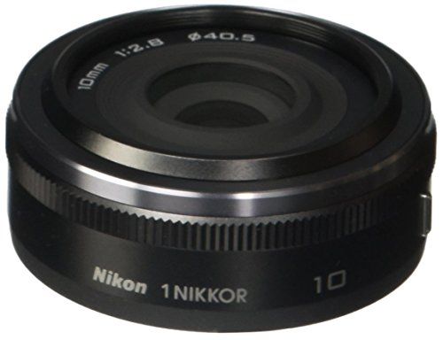 Nikon 1 NIKKOR 10mm f/2.8 (Black) (Renewed)