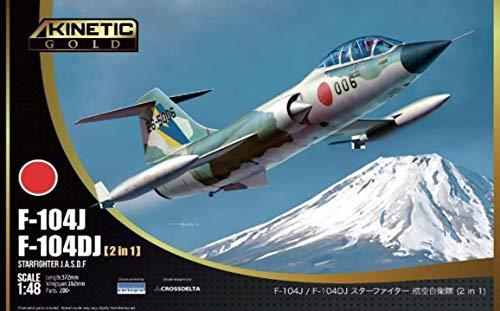 キネティック 1/48 航空自衛隊 F-104J/DJ スターファイター 2 in 1 プラモデル KNE48092