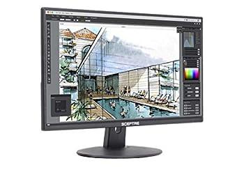 Sceptre E205W-1600 20  75Hz Ultra Thin LED Monitor HDMI VGA Build-in Speakers Metallic Black  2018 version