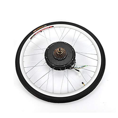 Instalación rápida del kit de conversión LCD de 250 W para bicicletas eléctricas de 36 V a 28 pulgadas para bujes de rueda delantera