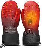Guantes calentados recargables, guantes de calefacción para unisex,...
