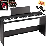 Korg B1 Digital Piano Bundle with Korg STB1 Stand, Sustain Pedal, Furniture-Style Bench, Instructional Book, Austin Bazaar Instructional DVD, and...