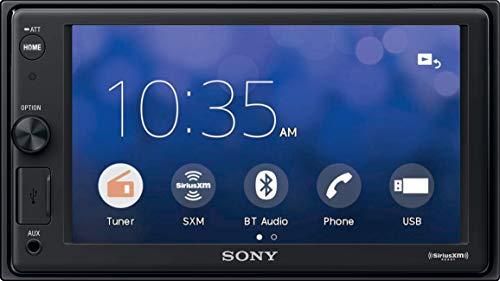 Sony XAVV10BT 15.7cm (6.2 inch) Media Receiver with Bluetooth