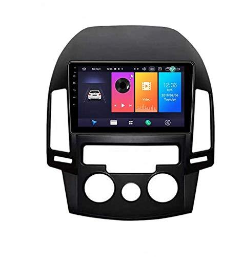 Für Hyundai I30 / Elantra Touring 2007-2012 Android Autoradio Auto Navi Auto Stereoanlage 9 Zoll Touch GPS Navigator Display Auto Media Player Support Bildschirm Spiegel Bluetooth Lenkradsteuerung