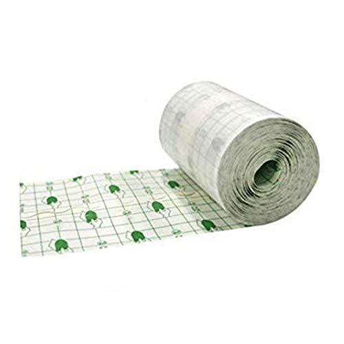 "Zorvo Transparent Film Roll Waterproof Adhesive Wound Dressing Fixation Tape Bandage 4""X10.9 Yards"