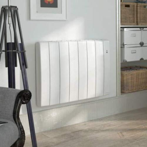 Staande radiator Bilbao 3, 750 W, horizontaal, wit