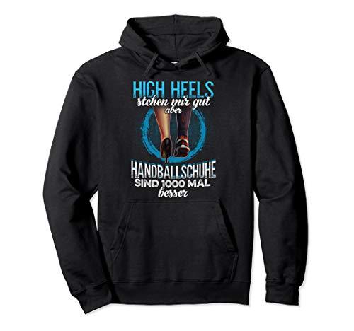 Damen Handballschuhe Kleidung Handballer Geschenk Handball Pullover Hoodie