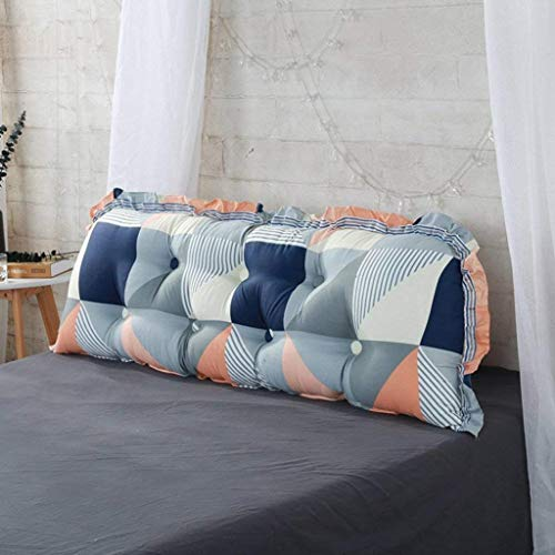 LFOZ Colchón almohada hecha de algodón suave que se puede lavar en la mesita de noche Tatami (color: E, tamaño: 150 x 55 cm)