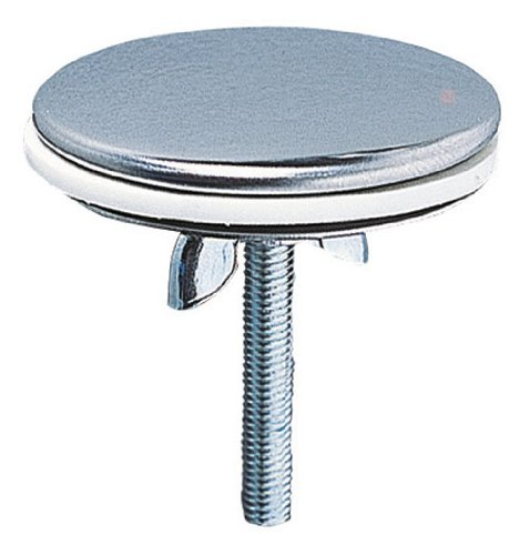 Wirquin 39252004 - Tappo copriforo in ottone cromato, diametro: 43 mm