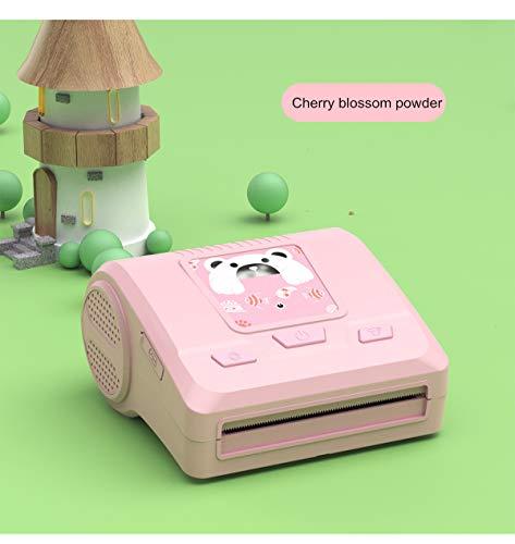 Gycdwjh Mini Impresora Fotográfica, Impresora Inalámbrica de Fotos Térmica en Blanco y Negro con Bluetooth para Teléfono Móvil Protección Ambiental Sin Tinta