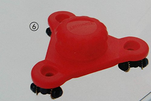 Techno Tapeten-Perforator Professional Tapeten Tiger rot