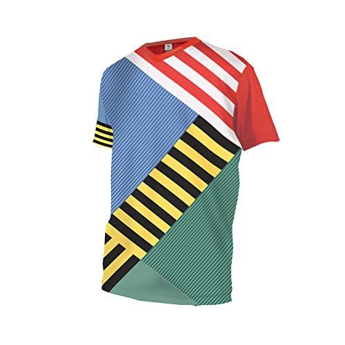 Uglyfrog+ Downhill Trikot Kurzarm MTB Trikot Herren Racewear FR Jersey Fahrrad Sport Enduro Leichtgewicht Atmungsaktives