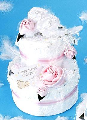 おむつケーキ手作りキット ピンクOC-1 10149