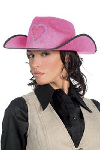 Cesar - L803-001 - Chapeau - Cowboy - Rose