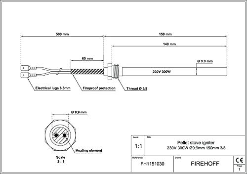FIREHOFF Calefacción de pellets