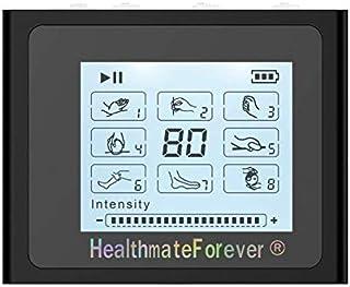 HealthmateForever FDA despejó a electroestimulacion Nts8 8 modos decenas de Mini Digital unidad masajeador eléctrico