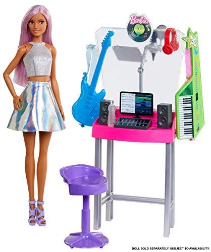 Barbie GJL67 - Barbie Berufe Spielset Tonstudio