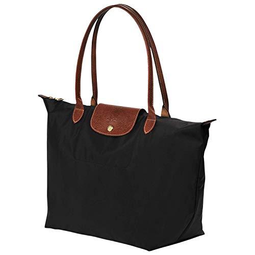 Longchamp Le Pliage Large Tote Bag (Black)