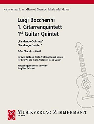 Erstes Gitarrenquintett: