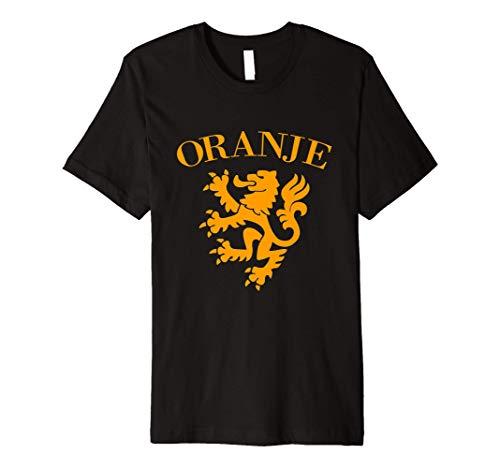 Oranje Netherlands Football Jersey Shirt Holland Soccer Team Premium T-Shirt