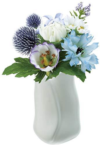 ポピー 造花 仏壇用 ミニポット 包む ペット 供花 お供え 仏花 アーティフィシャル フェイク アレンジメント フラワー ミックス 15×20×10cm FP-0847MIX